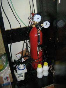System balonu CO2