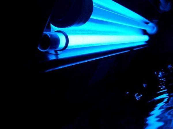 křemenná lampa fialová