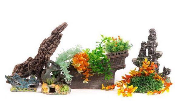Sztuczne rośliny do akwariów