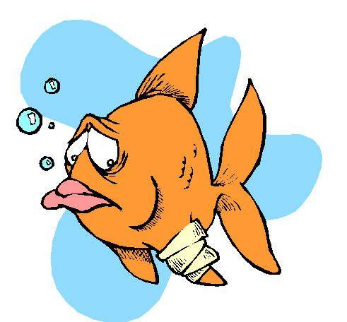 рибка захворіла