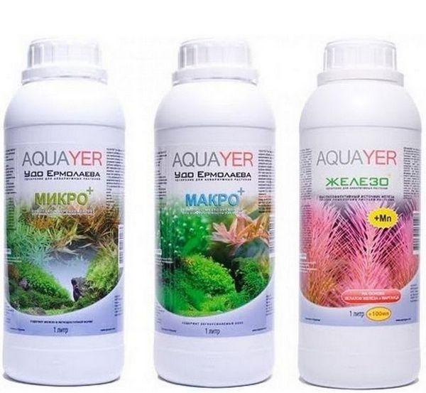 Nawożenie roślin akwariowych nawozami z warstwy wodonośnej