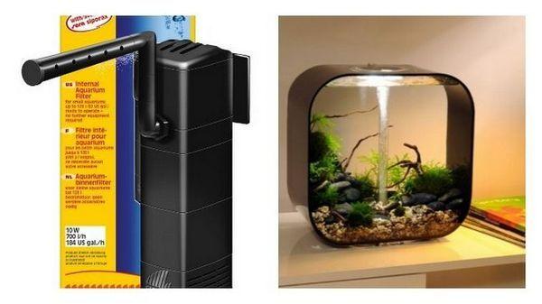 Klasyfikacja filtracji w akwarium