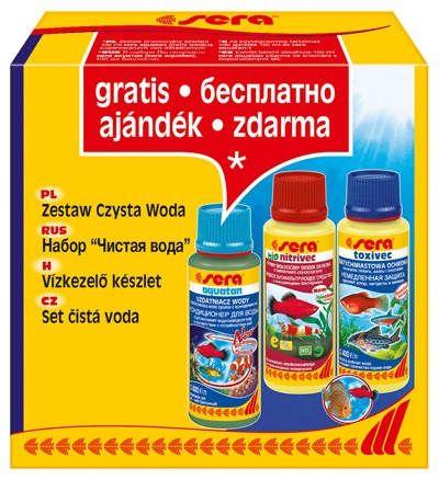 препарати sera для акваріумної води