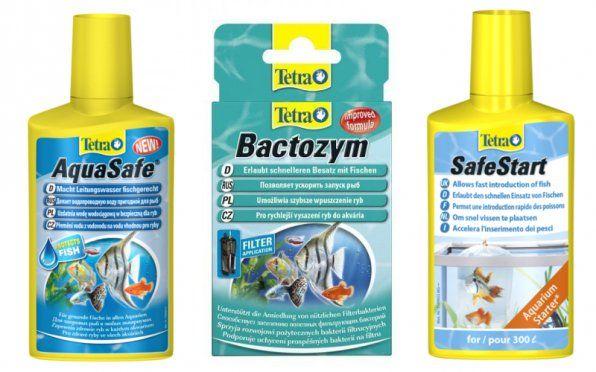 Стартові препарати Тетра для запуску акваріума